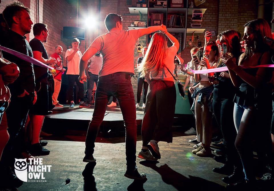 dancing crowd 1