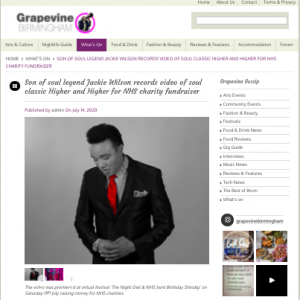 Grapevine Birmingham article of Bobby Brooks Wilson