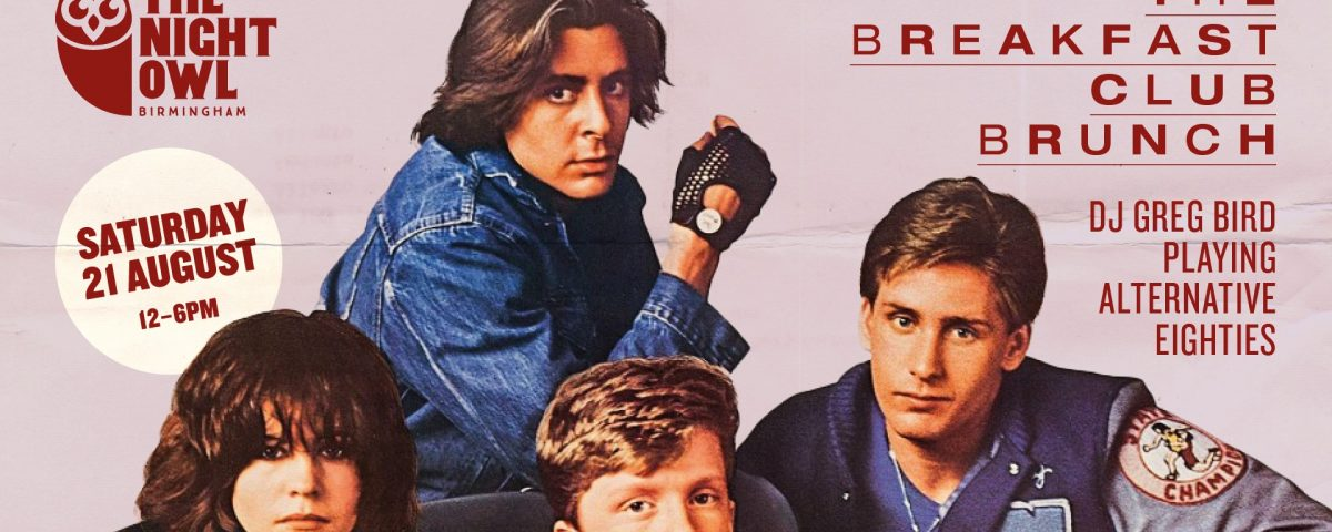 The Breakfast Club Brunch At The Night Owl - Poster